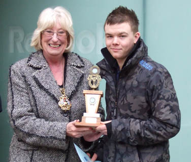 Lord Mayor presents Shopmobility challenge trophy